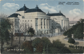 Tallinn : Estonia teater = Reval : Theater Estonia