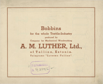 Bobbins for the whole Textile-Industry