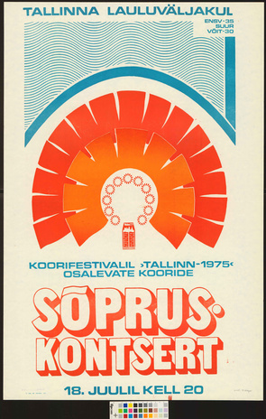 Koorifestivalil Tallinn 1975 Osalevate Kooride Sopruskontsert Digar