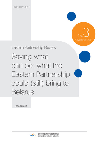 Saving what can be: what the Eastern Partnership could (still) bring to Belarus ; (Eastern Partnership review, 3)