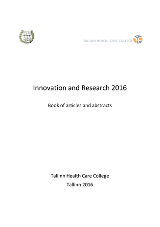 Innovation and research 2016 : book of articles and abstracts
