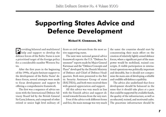 Baltic defence review ; no. 4 (2000)
