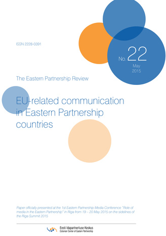 EU-related communication in Eastern Partnership countries ; (Eastern Partnership review, 22)