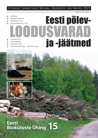 Eesti põlevloodusvarad ja -jäätmed = Estonian combustible natural resources and wastes ; 2013