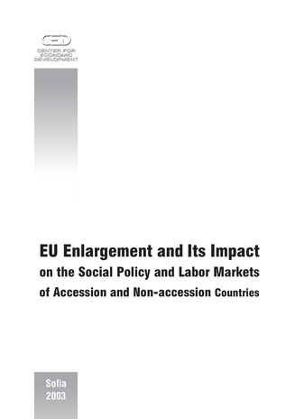 EU enlargement and its impact on the social policy and labor markets of accession and non-accession countries