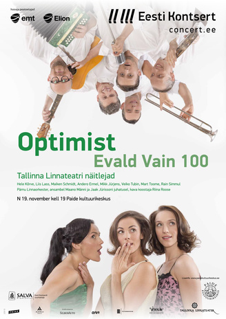 Optimist Evald Vain 100