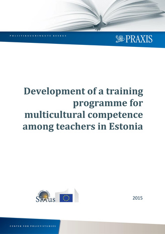 Development of a training programme for multicultural competence among teachers in Estonia