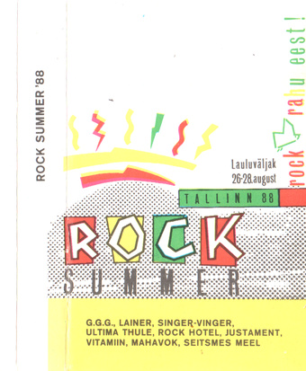 Rock summer : Tallinn'88, Lauluväljak, 26.-28. august