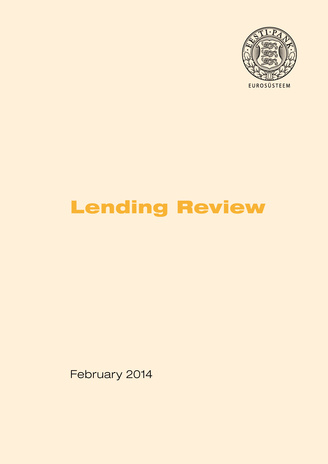 Financing of the economy ; 2014