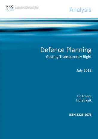 Defence planning : getting transparency right