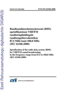 IEC 62106 PDF